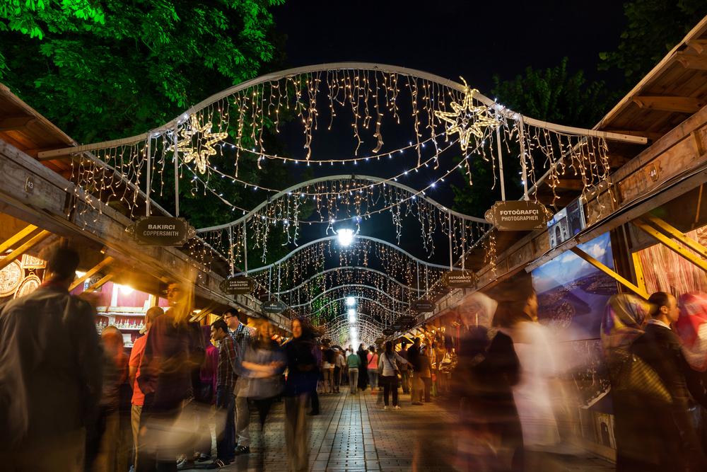 Ramadan Bazaar in Sultanahmet square_251595937