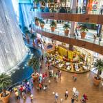 Waterfall in Dubai Mall_228880075