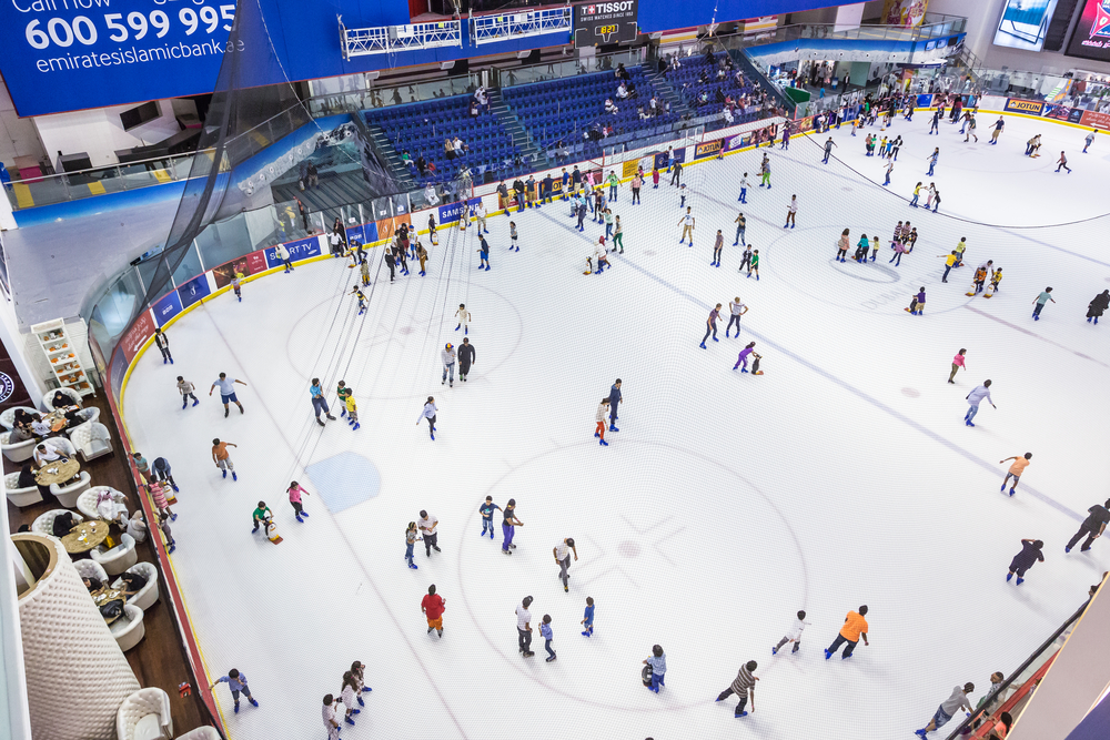 ice rink of the Dubai Mall_155041439