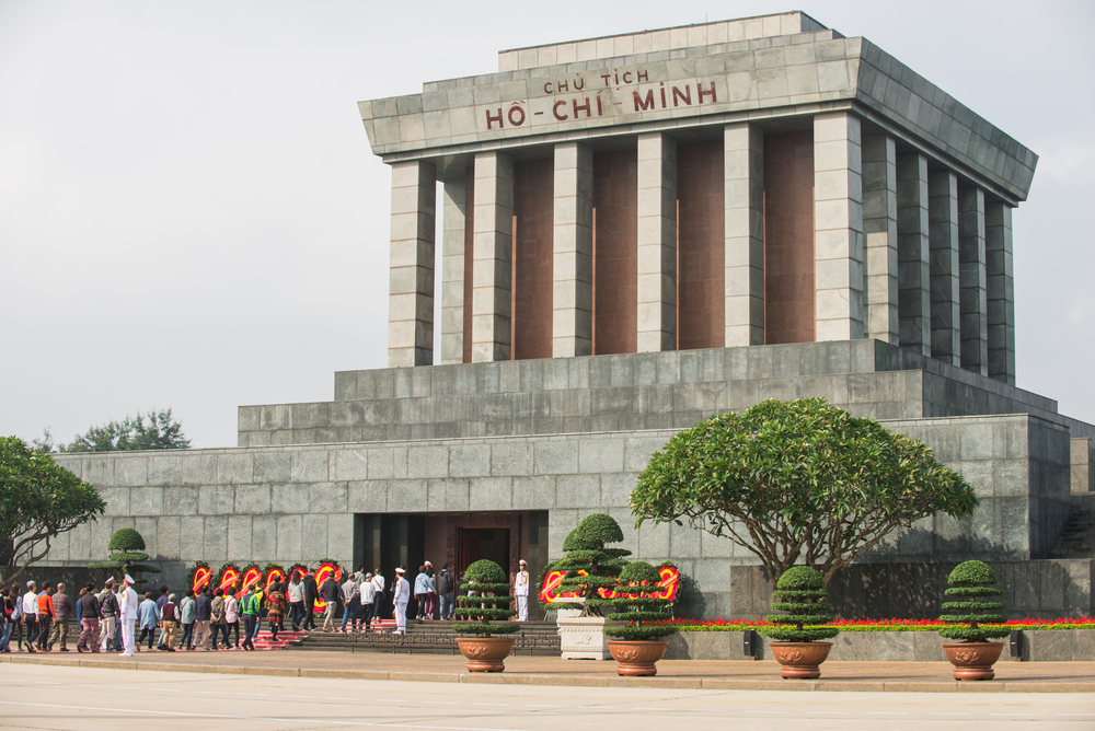Mausoleum in Ba Dinh Square_378148726