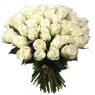 Bouquet de 36 rosas blancas