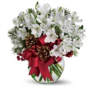 Blanca Navidad. Incluye Florero