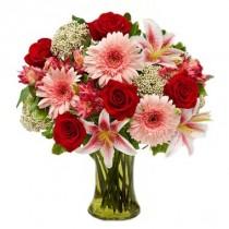 Romance en flores. Incluye Florero