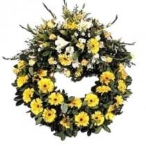 Corona de Flores Amarillas