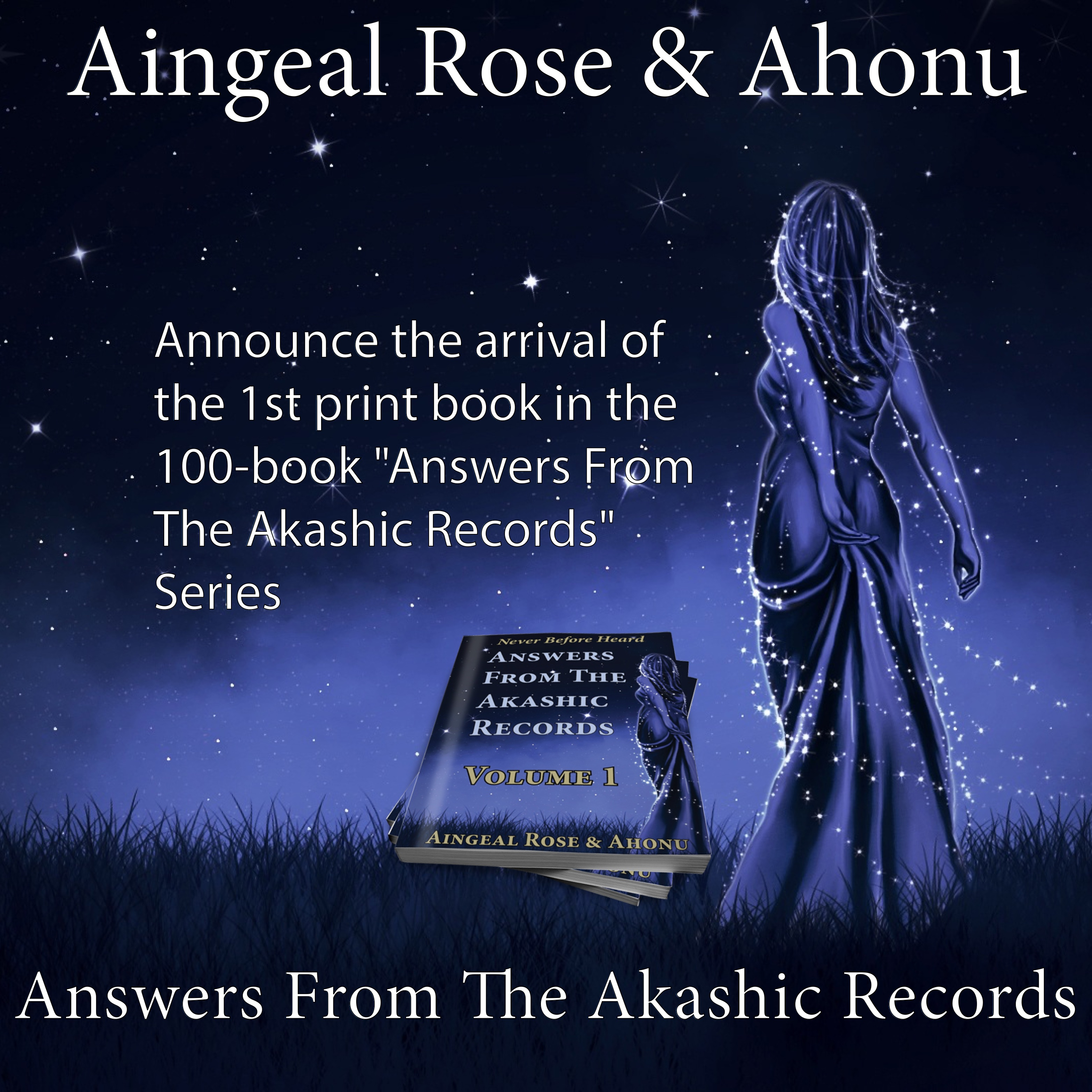 Aingeal Rose & Ahonu announce the launch of the Answers From The Akashic Records Podcast series