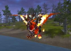 Flameward Hippogryph