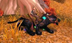Jeweled Onyx Panther