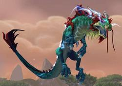 Reins of the Thundering Jade Cloud Serpent