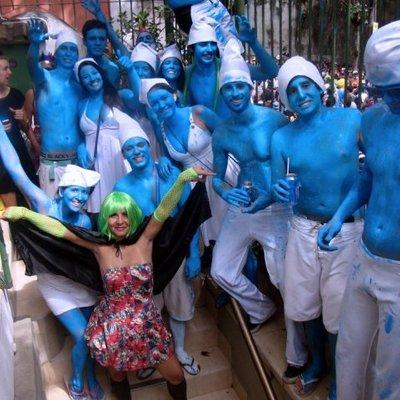 Smurfs carnaval 2013 web