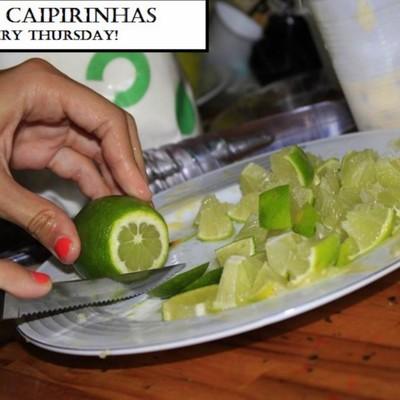 Free caipirinhas esvery thursday