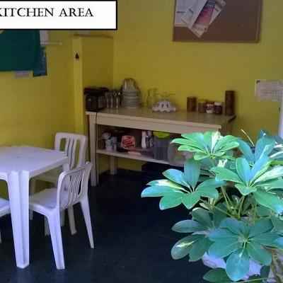 Kitchen outside area