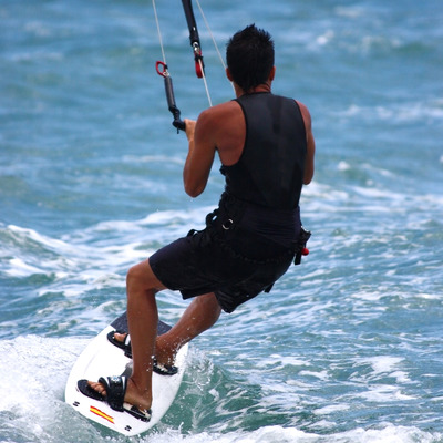 Para surfing on the ocean zkrhghd