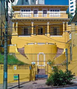 Fachada samba rooms hostel