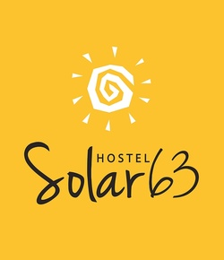 Logotipo solar63 fundo amarelo