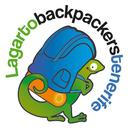 Logo lagarto circular