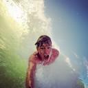 Bodysurf selfie
