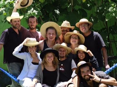 Iguana hostel garden
