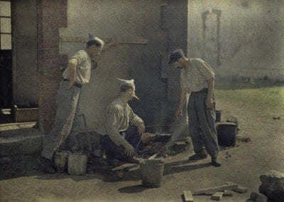 Soldiers cooking