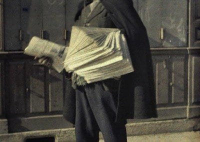 Newspaper merchant