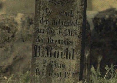 German tombstones