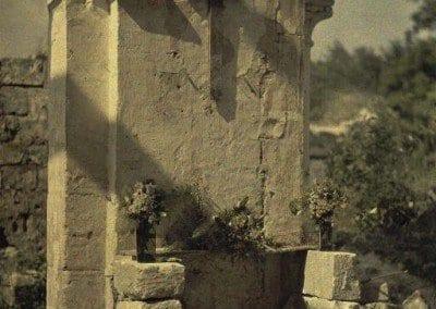 Open air altar