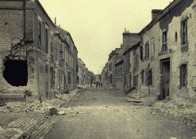 Saint-André Street, after bombing