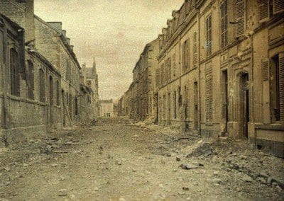 Saint-André Street, two hours after the bombing.