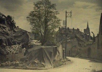 Street of Buerie, ruins.