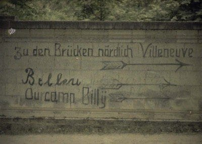 German Inscription on wall