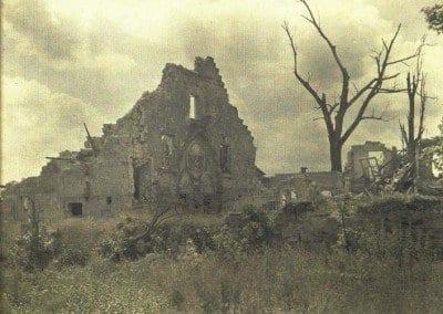 Chapel in ruins