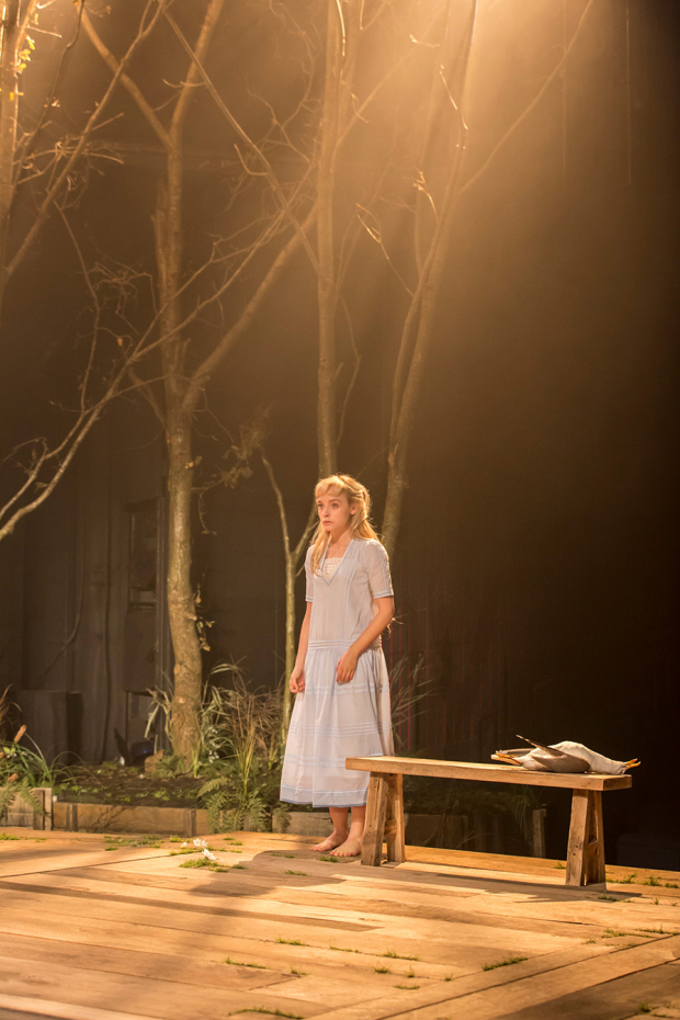 Olivia Vinall in The Seagull