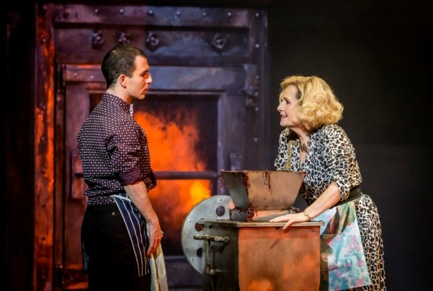 George Ure as Tobias and Janis Kelly as Mrs Lovett in Sweeney Todd (WNO)