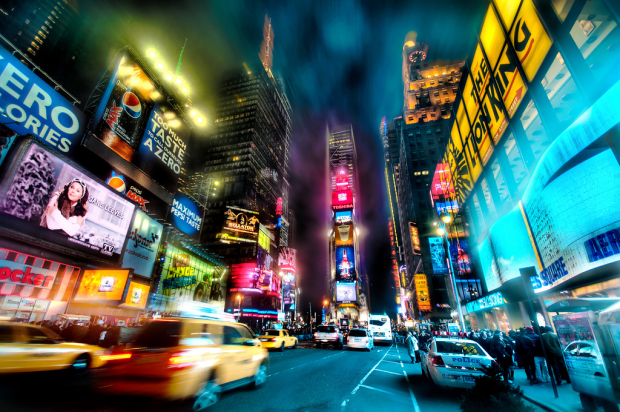 New York, New York: British and American theatre are not a million miles from one another.