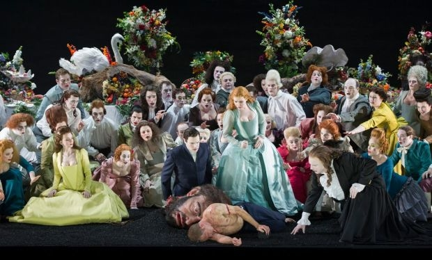 The cast and chorus of Saul (Glyndebourne Tour)