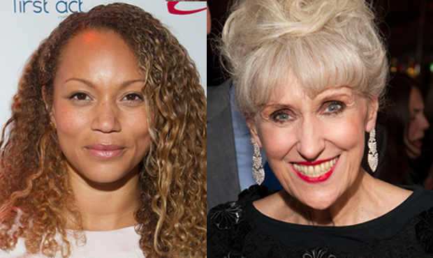 Angela Griffin and Anita Dobson