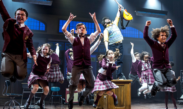 School of rock smashes broadway box office record - Winter garden theatre box office hours ...