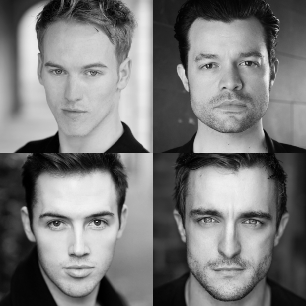 Clockwise from top left: Matt Corner, Simon Bailey, Matt Hunt and Declan Egan.