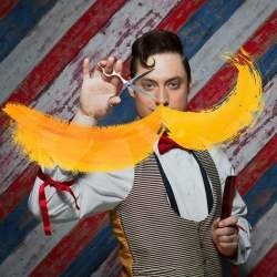 Publicity shot for The Barber of Seville (WNO)