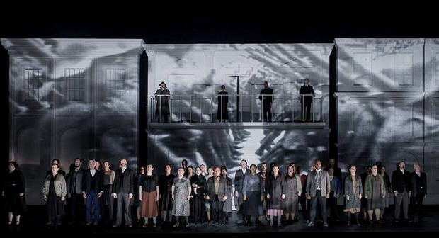 English National Opera Chorus in The Force of Destiny (ENO)