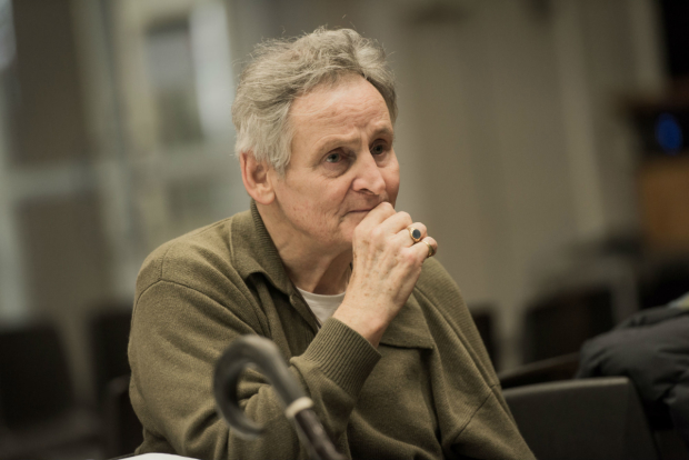 Max Stafford-Clark in rehearsals for All That Fall