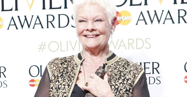 Judi Dench, Winner of Best Actress In A Supporting Role For The Winters Tale