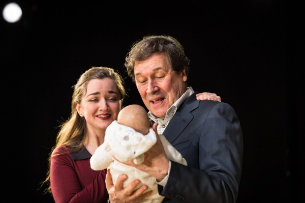 Amy Molloy (Julie) and Stephen Rea (Eric Miller) in Cyprus Avenue