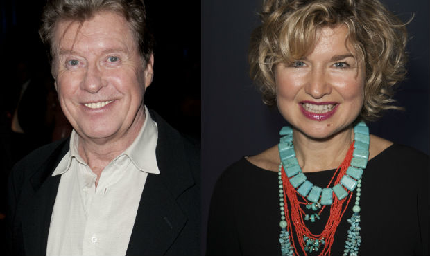 Michael Crawford and Issy Van Randwyck