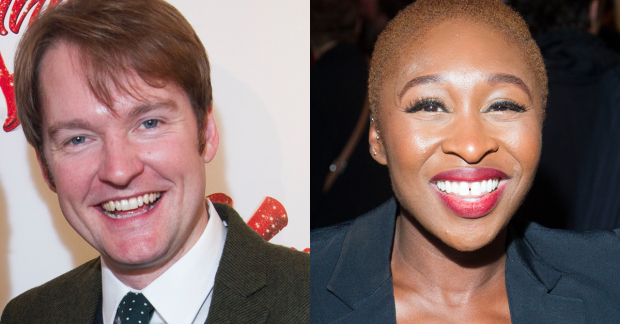 Killian Donnelly and Cynthia Erivo are among the judges in the Musical Theatre category