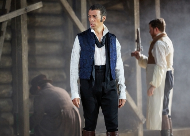Roderick Williams in the title role of Eugene Onegin (Garsington Opera)