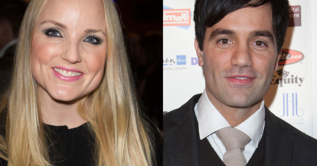 Kerry Ellis and Ramin Karimloo