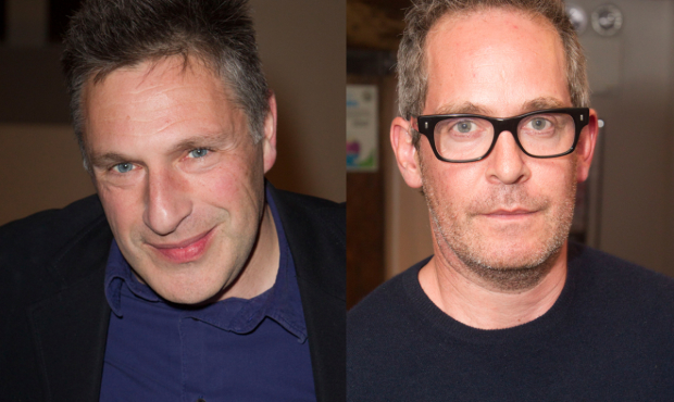 Patrick Marber and Tom Hollander