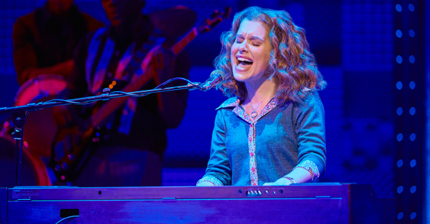 Cassidy Janson as Carole King in Beautiful