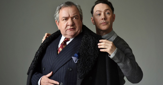 Ken Scott and Reece Shearsmith in The Dresser