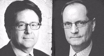 Lawyers Dean Strang and Jerry Buting